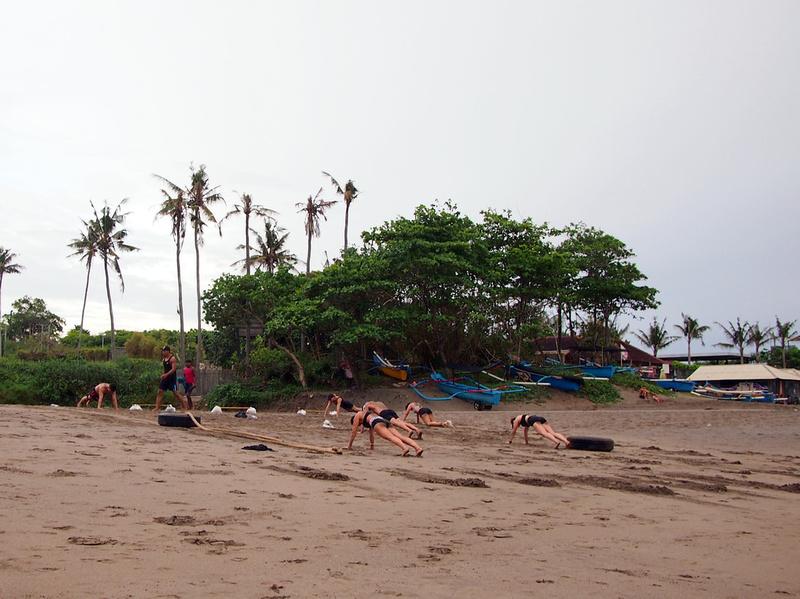 Beach Crossfit