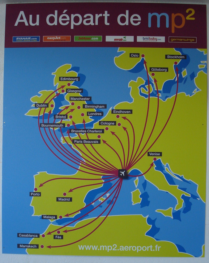 Marseille Provence Airport destinations