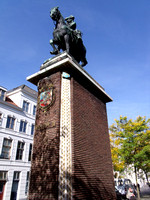 Willem III monument, Breda - Netherlands.