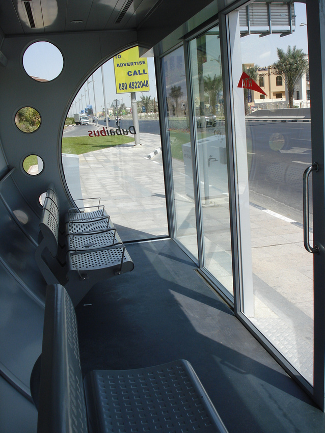 Dubai Air Conditioned Bus Stop Seats