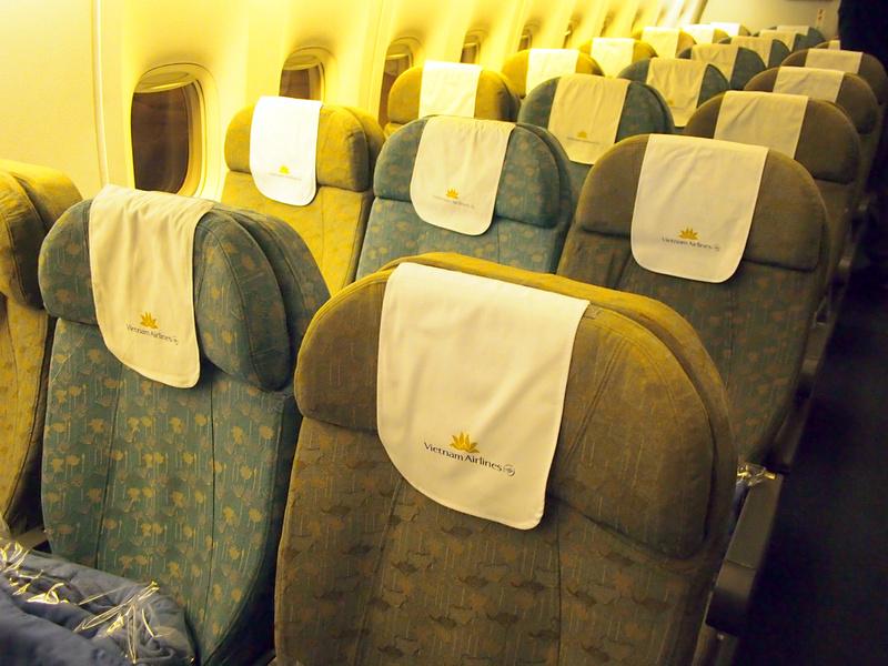 Vietnam Airlines economy seats