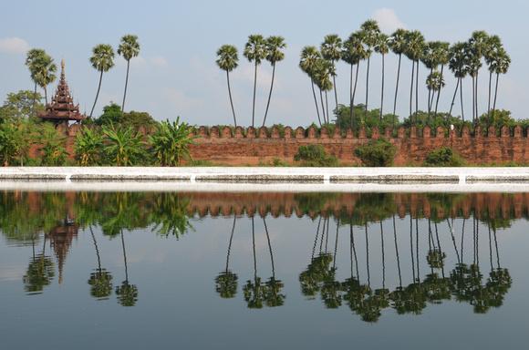 Mandalay Palace, Mandalay [Myanmar]