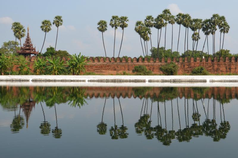 Mandalay Palace moat, Mandalay - Myanmar
