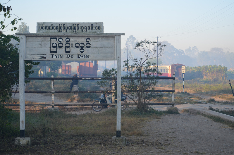 Pyin U Lwin train station