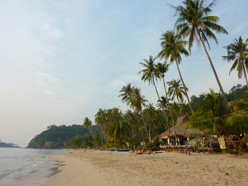 Lonely Beach at Koh Chang, Thailand