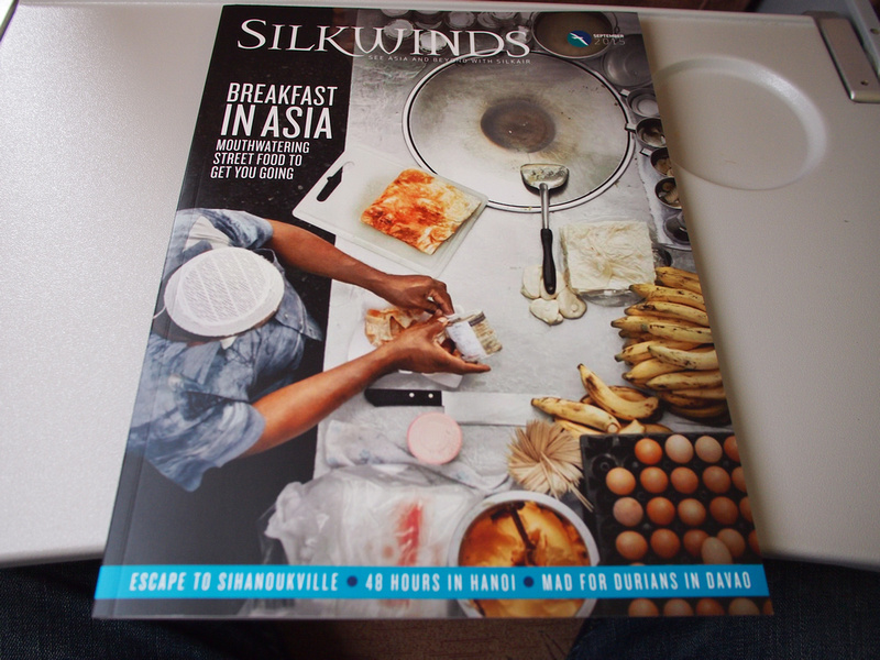 SilkAir Inflight magazine