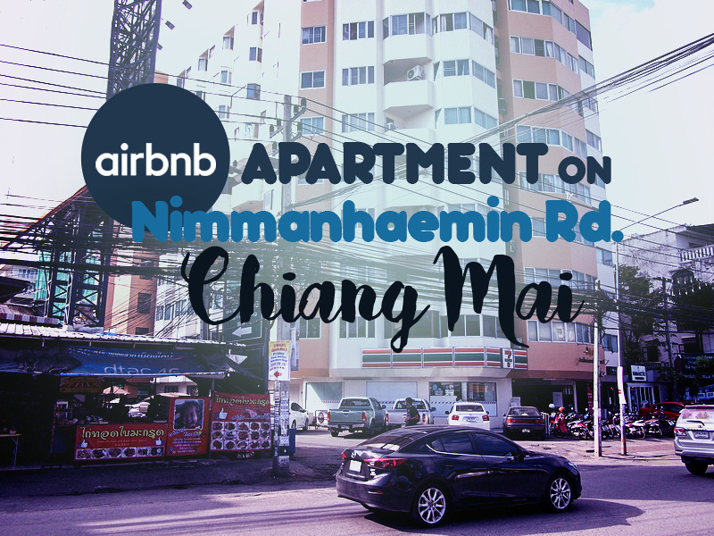 Airbnb apartment on Nimmanhaemin Rd, Chiang Mai