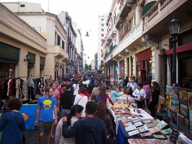 San Telmo Weekend Market