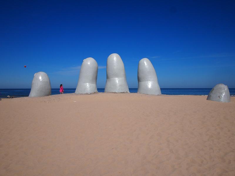 Hand of Punta del Este, Uruguay