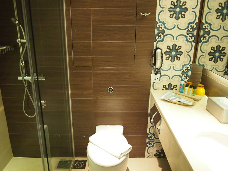 Orchard Parade Hotel Bathroom