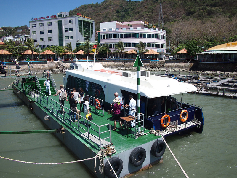 Ferry at Vung Tau