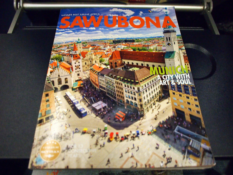 South African Airways inflight magazine March 2015