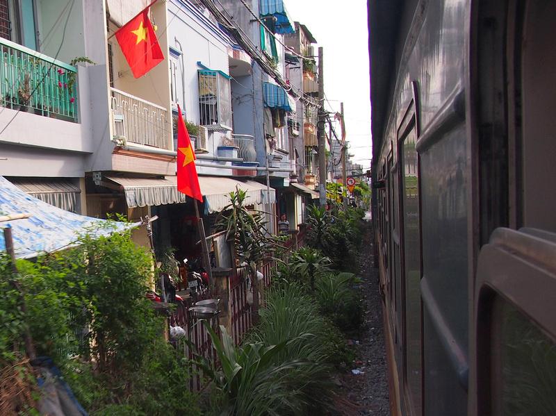 Arriving in Saigon
