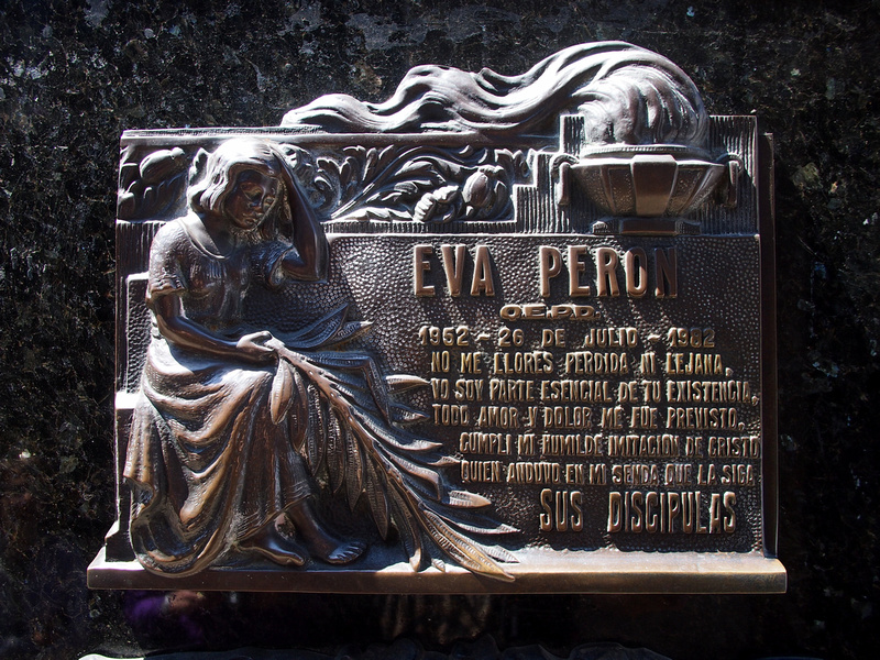 the return of eva peron essay Peron, eva evita, 1919-1952  in return for a no-strike pledge peron engineered a small wage rise and better conditions  andrew o'hagan's essay on the.