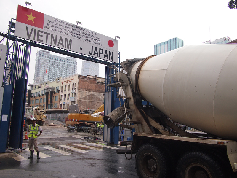 Vietnam - Japan Construction Site
