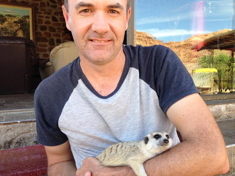 Holding Meerkat