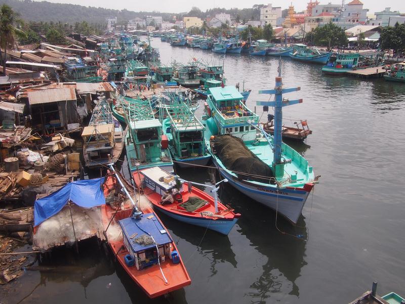 Duong Dong fishing fleet