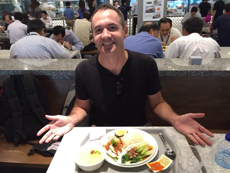 James in Singapore