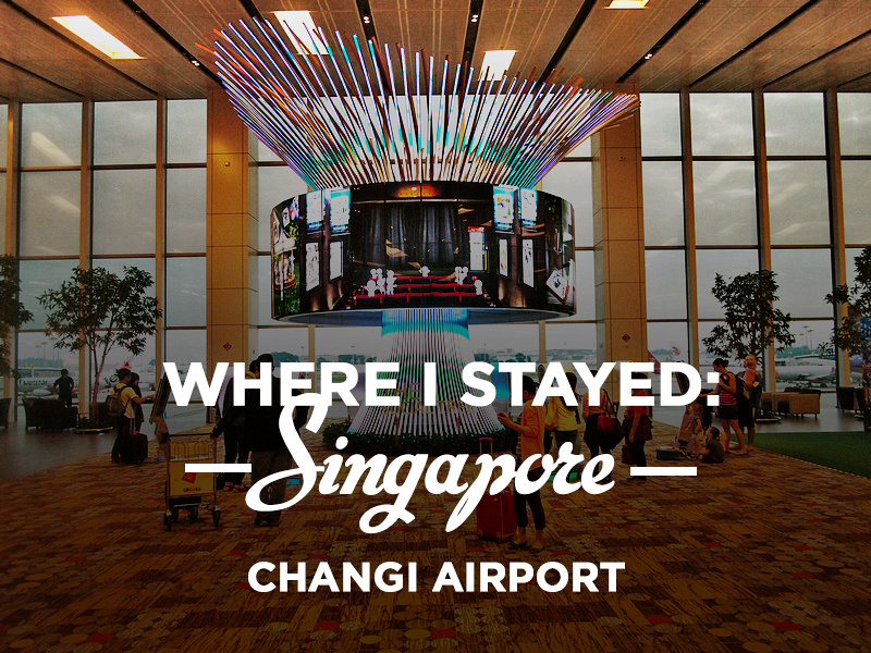 Staying overnight at Singapore Changi Airport & overnight at Singapore Changi Airport azcodes.com