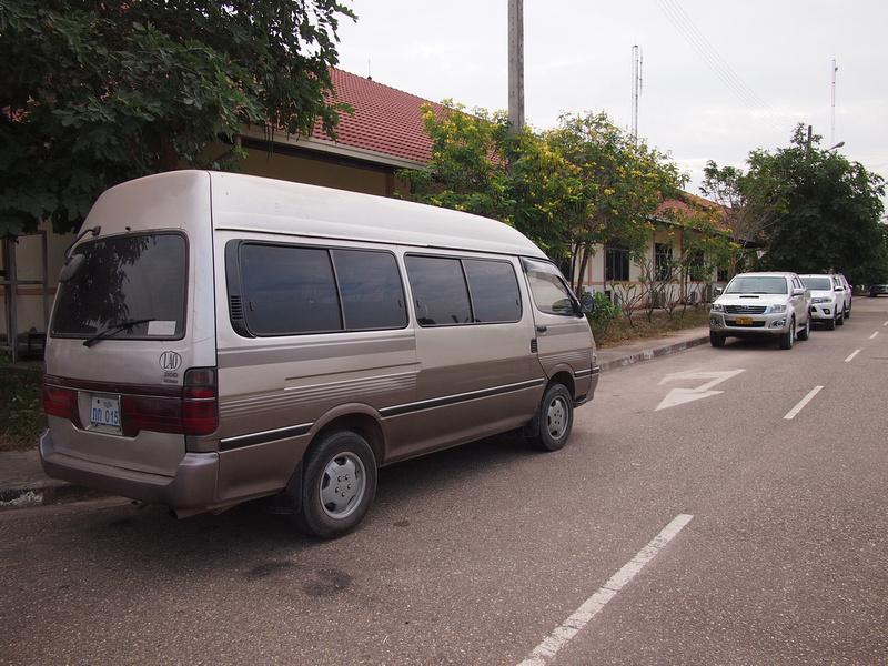 Minivan to Vientiane