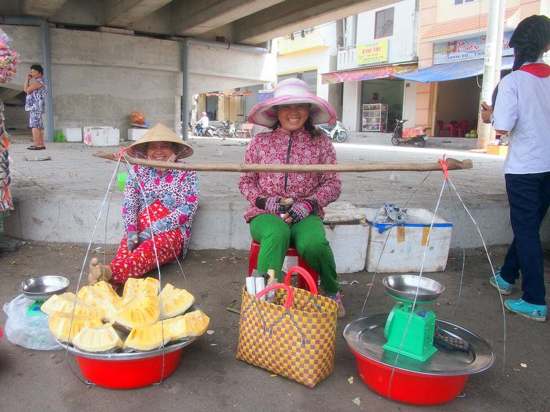 Jackfruit lady