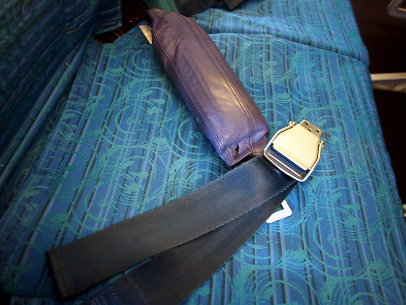 Cathay Pacific Seat Belts