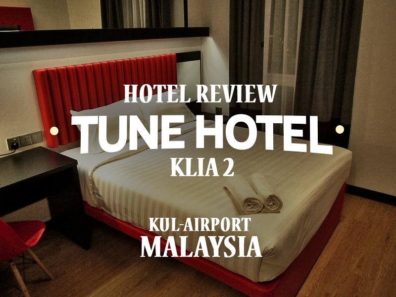 Tune Hotel klia2, KUL Airport - Malaysia