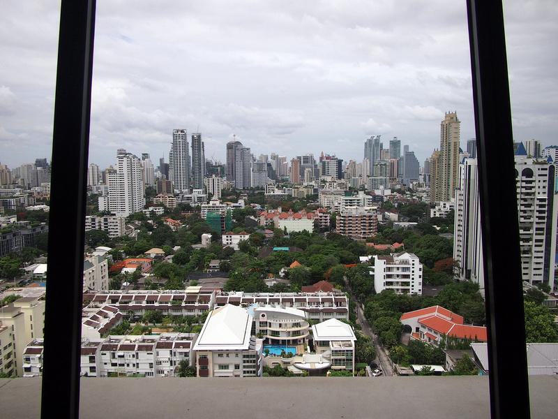 Sukhumvit Skyline - Atrium Bangkok Hotel