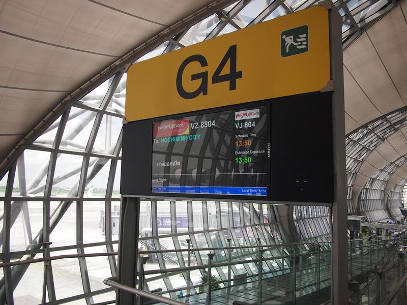 Gate G4 at BKK