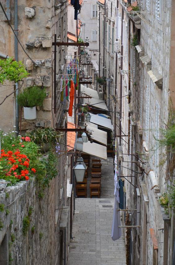 Dubrovnik laneway