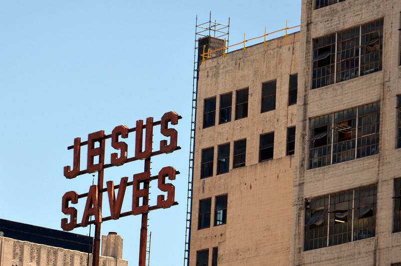 Jesus Saves - Downtown LA