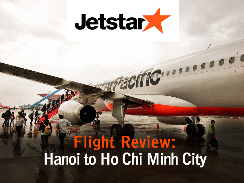 Jetstar Pacific - Hanoi to Ho Chi Minh City