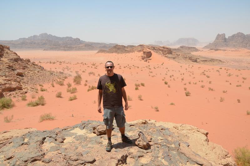 James at Wadi Rum