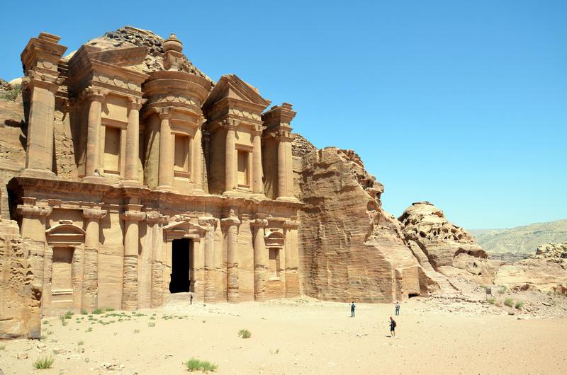 Monastery - Petra - Jordan