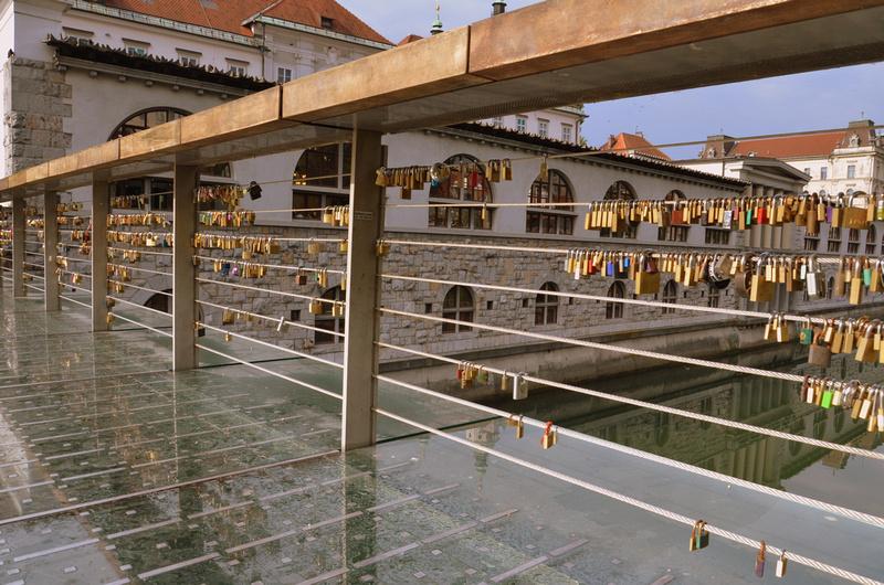 Love padlocks, Ljubljana - Slovenia