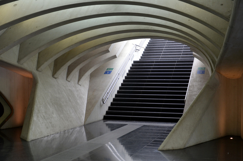Liège-Guillemins station underpass