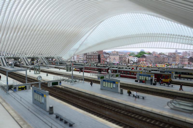 Liège-Guillemins tilt-shift