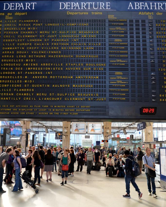 Gare du Nord, Paris - France