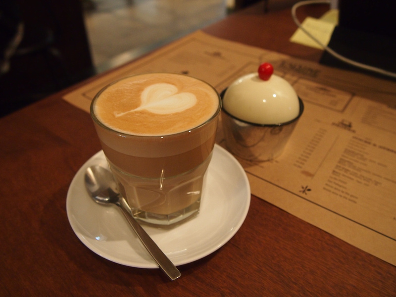 Cafe Latte at L'usine - Ho Chi Minh City