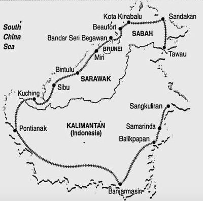 Trans-Borneo railway