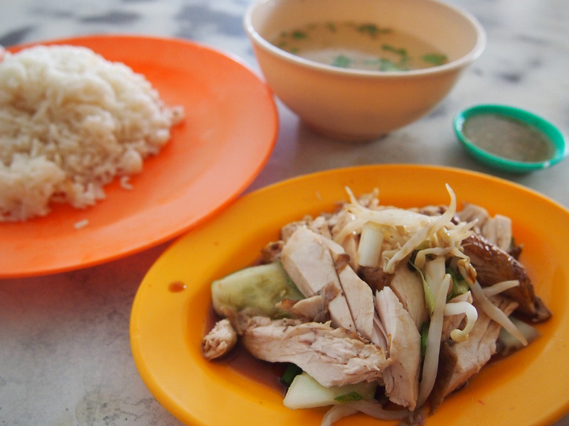 Chicken and rice: Georgetown - Penang