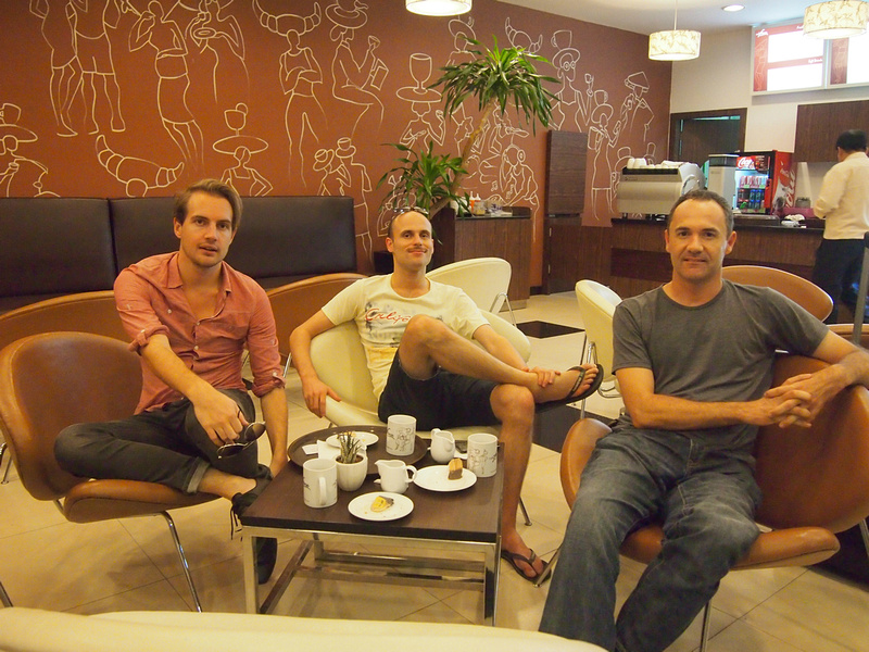 Will, Anthony and James - Phnom Penh