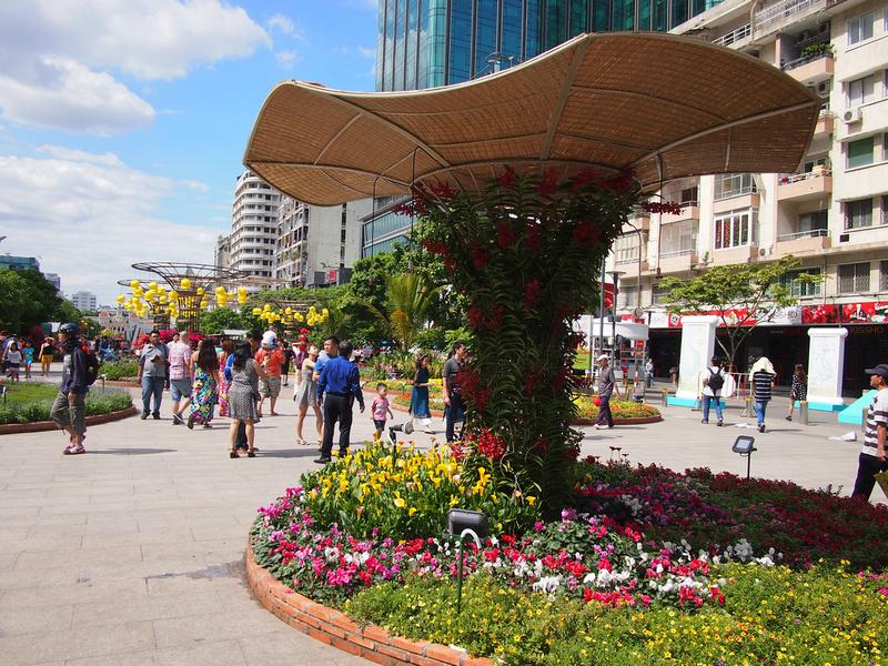 Nguyen Hue Flowers