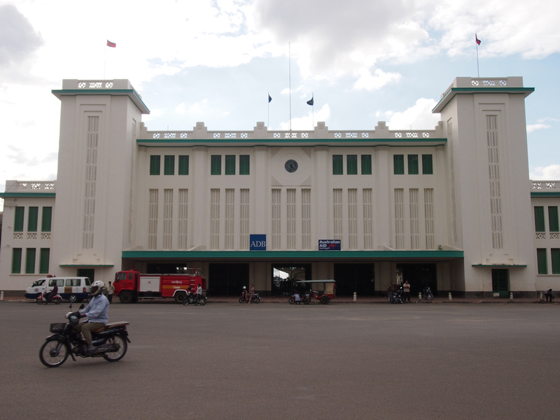 Phnom Penh train station