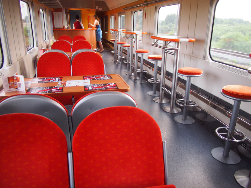 Dining car - Poland