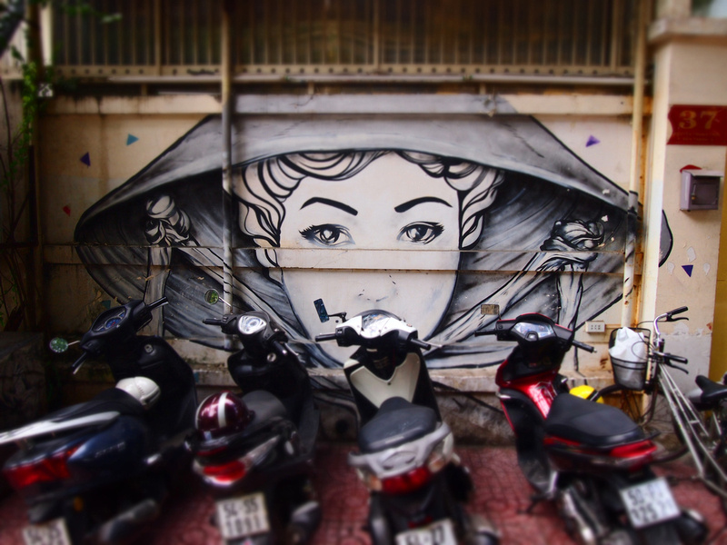 Saigon street art [Ho Chi Minh City - Vietnam]
