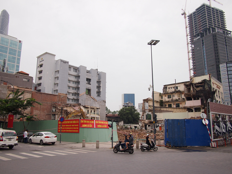 Demolished Tax Centre