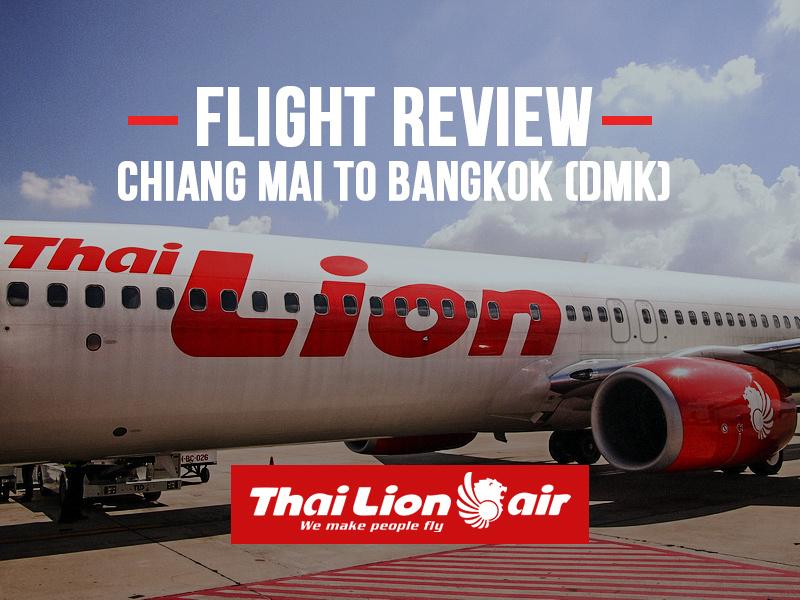 Thai Lion Air - Chiang Mai to Bangkok (DMK)