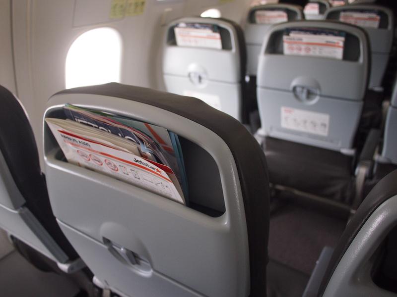 No seat pockets
