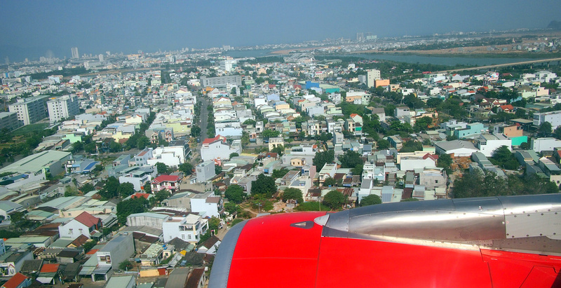 Arriving at Da Nang